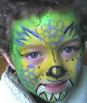 Face Painting by Sharon
