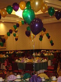 Tables & Chairs, Tents & Decorations