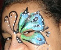 Tropical Face Painting Activities