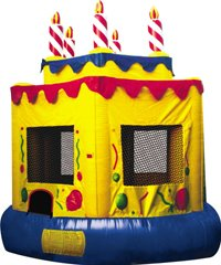 Birthday Cake Bounce House Rentals