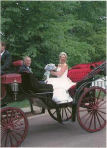 Victorian Wedding Carriage
