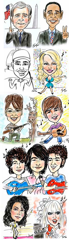 The Art of Caricatures By Judy