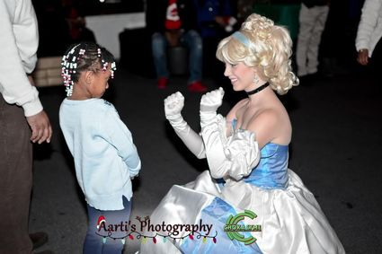 Fairy Tale Princess Cinderella At Party