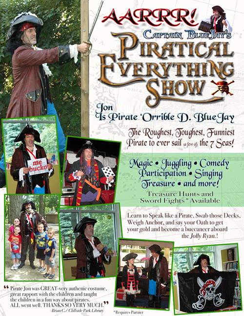 Piratical Everything Show Pirate Party