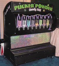 Pucker Powder Candy Art Activities