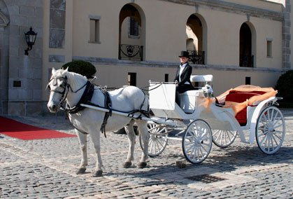 Victorian Wedding Carriages
