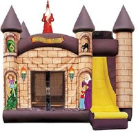 Wizard Combo Bounce House Rentals
