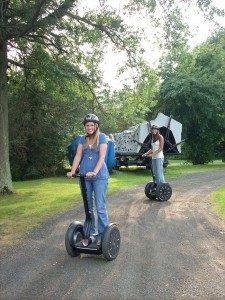 Segways Interactive Fun Obstacles